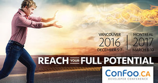 ConFoo Vancouver 2016 and Montreal 2017