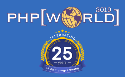 php[world] 2019 — Celebrating 25 years of PHP programming